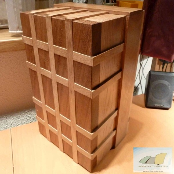 inlay oak strips whiskybox