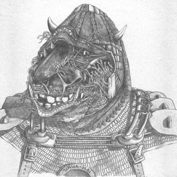 Lotr: Ork van de Uruk-Hai stam