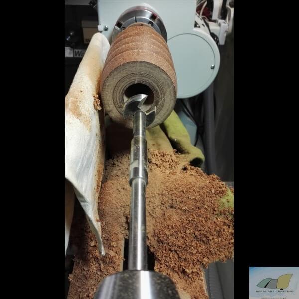 Enorm verlengde Forstner 35mm voor hardhout