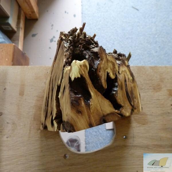 Bovenaanzicht Acacia Rots lamp